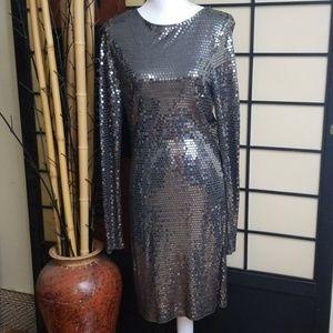 NWT Michael Kors gunmetal dress